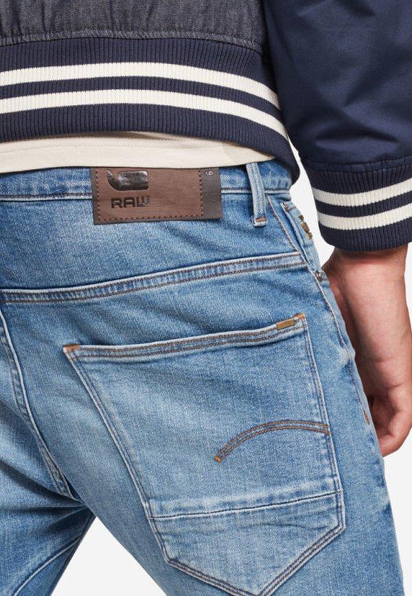G-Star ARC SLIM - Jeansy Slim Fit - light blue/niebieski denim Odzież Męska QFLN