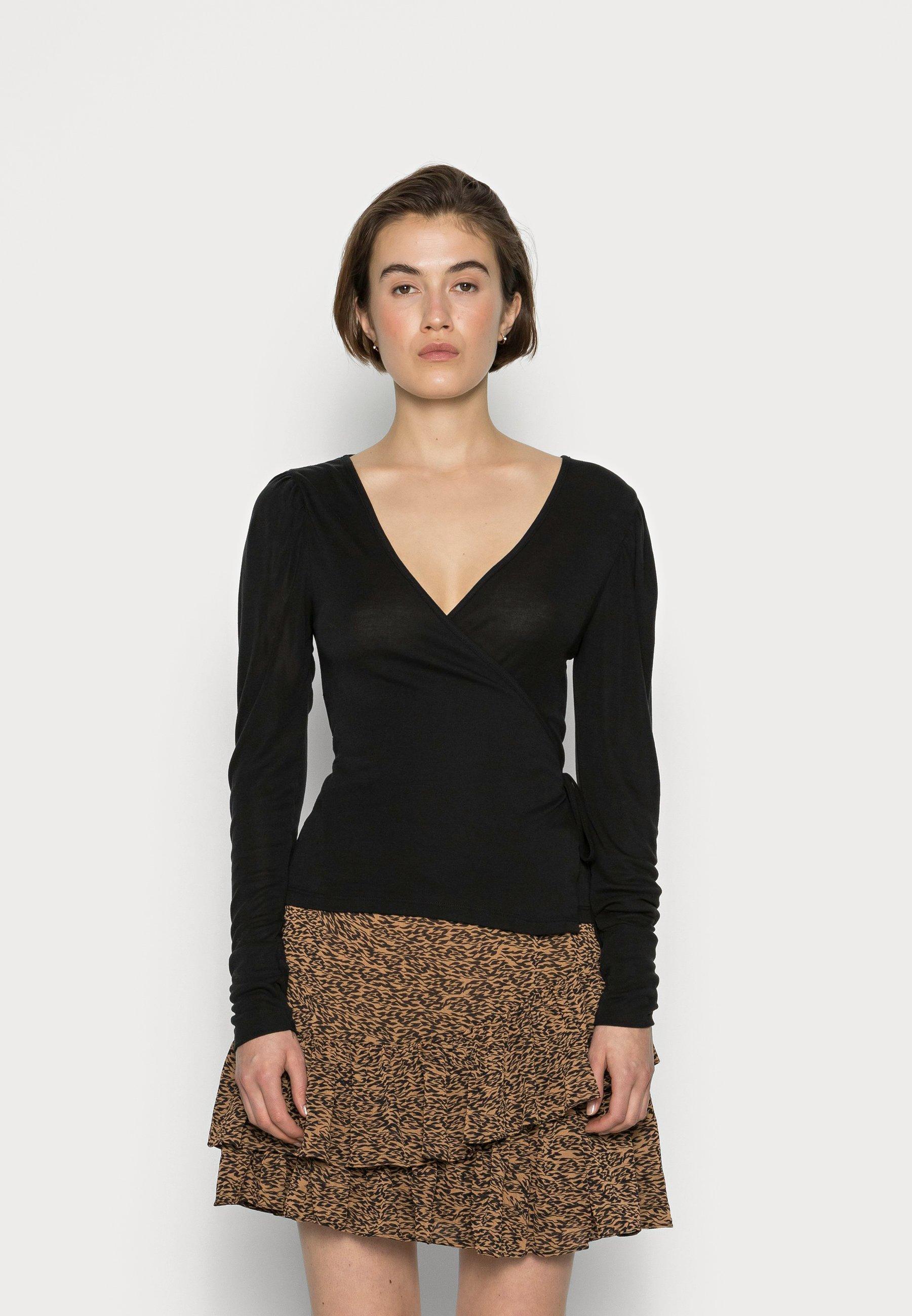 Women SLFHOPE WRAP - Long sleeved top
