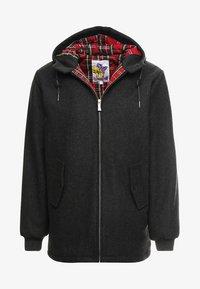 HARRINGTON - FRANCKY HOODED - Krátký kabát - gris - 4
