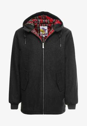 FRANCKY HOODED - Short coat - gris