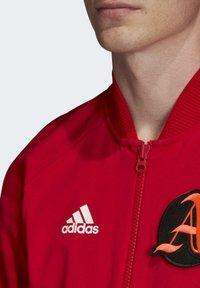 adidas Performance - VRCT JACKET - Training jacket - red - 5