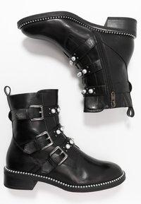 Tamaris - WOMS BOOTS - Cowboy/biker ankle boot - black - 3