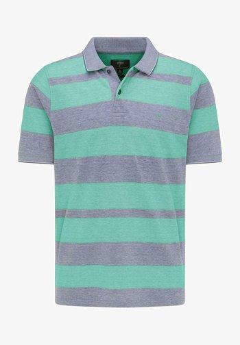 Polo shirt - midnight peppermint