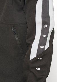 G-Star - SIDE STRIPE TRACK - Training jacket - raven - 6