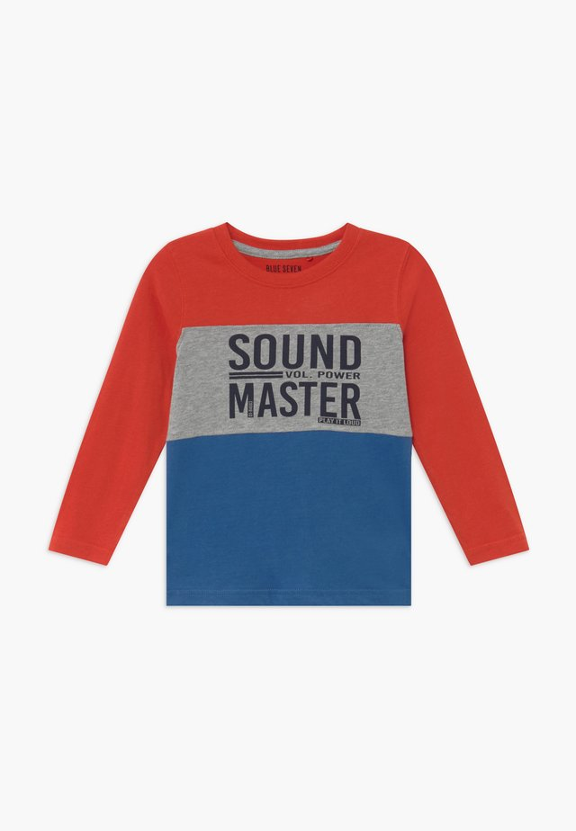 KIDS COLOURBLOCK - Longsleeve - ocean