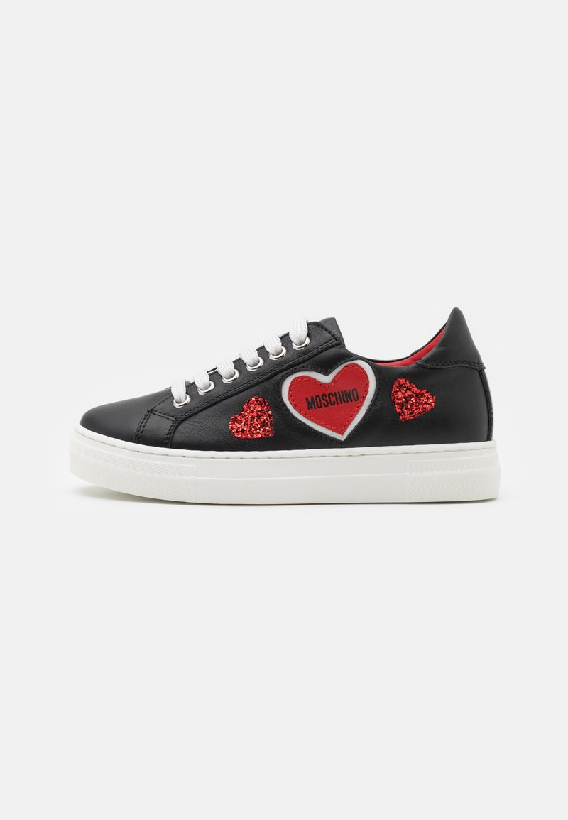 MOSCHINO - EXCLUSIVE UNISEX - Trainers - black/red