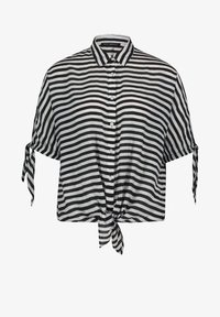 Betty Barclay - MIT STREIFEN - Button-down blouse - weiß/schwarz - 3