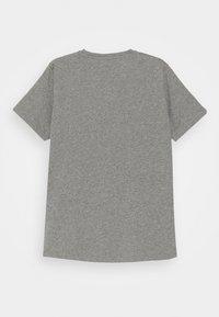 Versace - SHORT SLEEVES PLAIN AIGNATURE - Print T-shirt - greymelange/gunmetal - 1