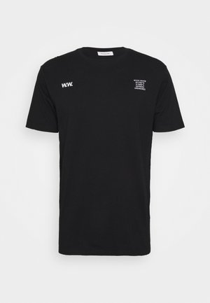 VOYAGES - Print T-shirt - black