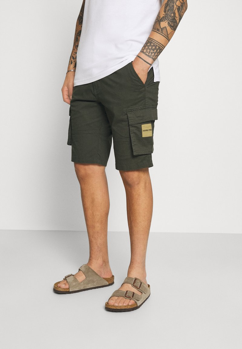 Denim Project - Shorts - dark olive