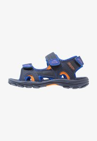 Kappa - EARLY II - Walking sandals - navy/orange - 1