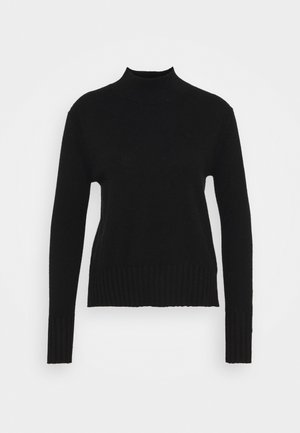 CASH MOCKNECK - Jumper - black