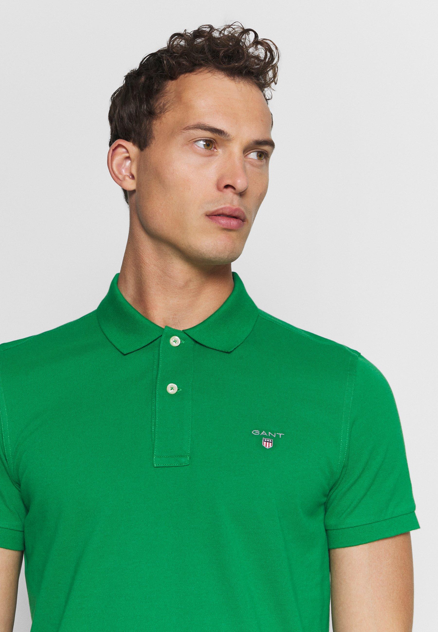 Gant The Original Rugger - Poloskjorter Green/grønn