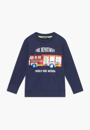 KIDS FLIP FIRE ENGINE - Sweatshirt - blau