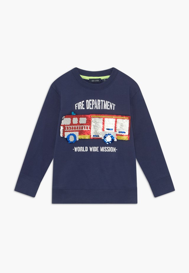 KIDS FLIP FIRE ENGINE - Sweatshirts - blau