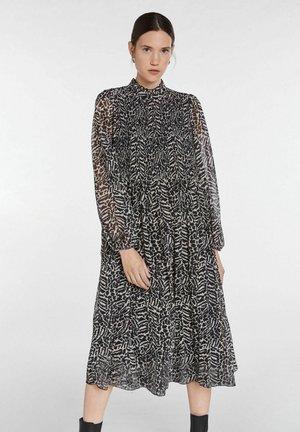 Day dress - black offwhite