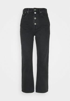 HARPER ANKLE - Straight leg jeans - black
