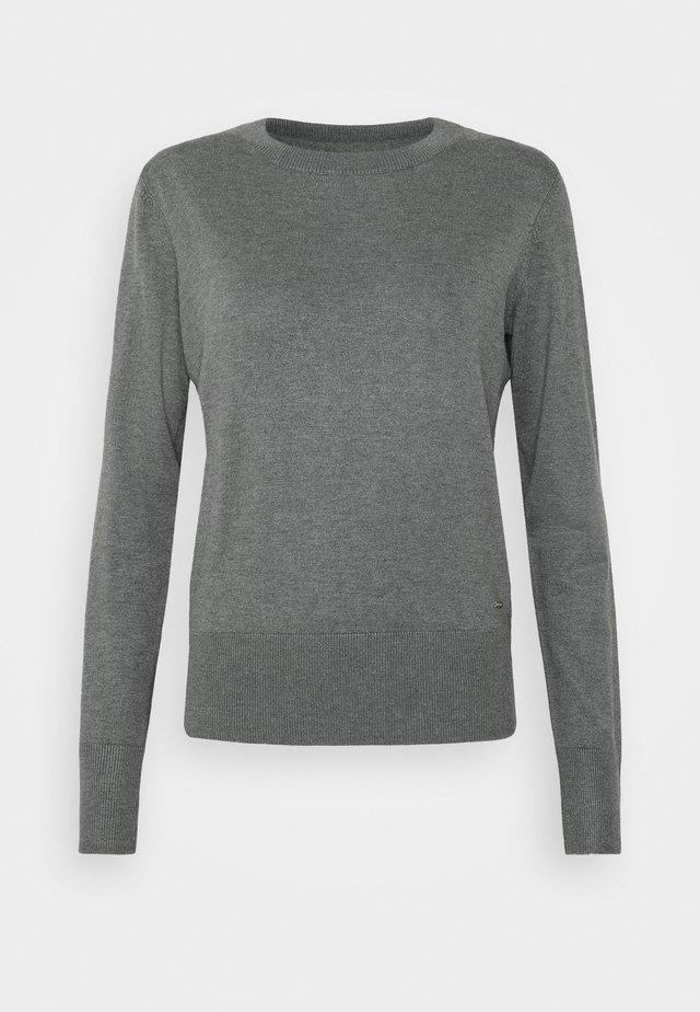 TAYLOR - Trui - dark grey melange