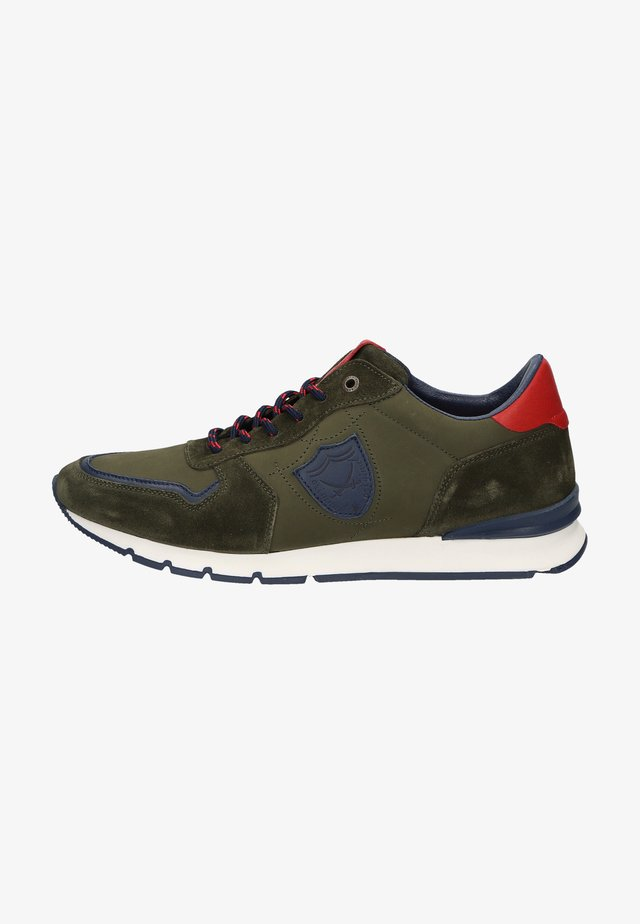 Sneakersy niskie - olive green