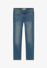 Name it - NKMTHEO PANT - Straight leg jeans - medium blue denim - 2