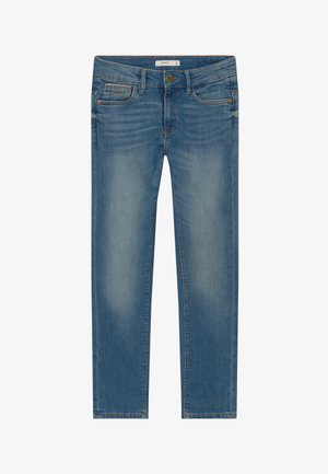 NKMTHEO PANT - Straight leg jeans - medium blue denim
