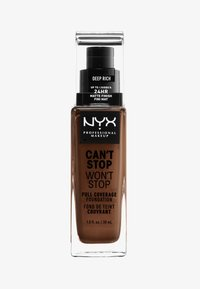 Nyx Professional Makeup - CAN'T STOP WON'T STOP FOUNDATION - Foundation - 20 deep rich - 0