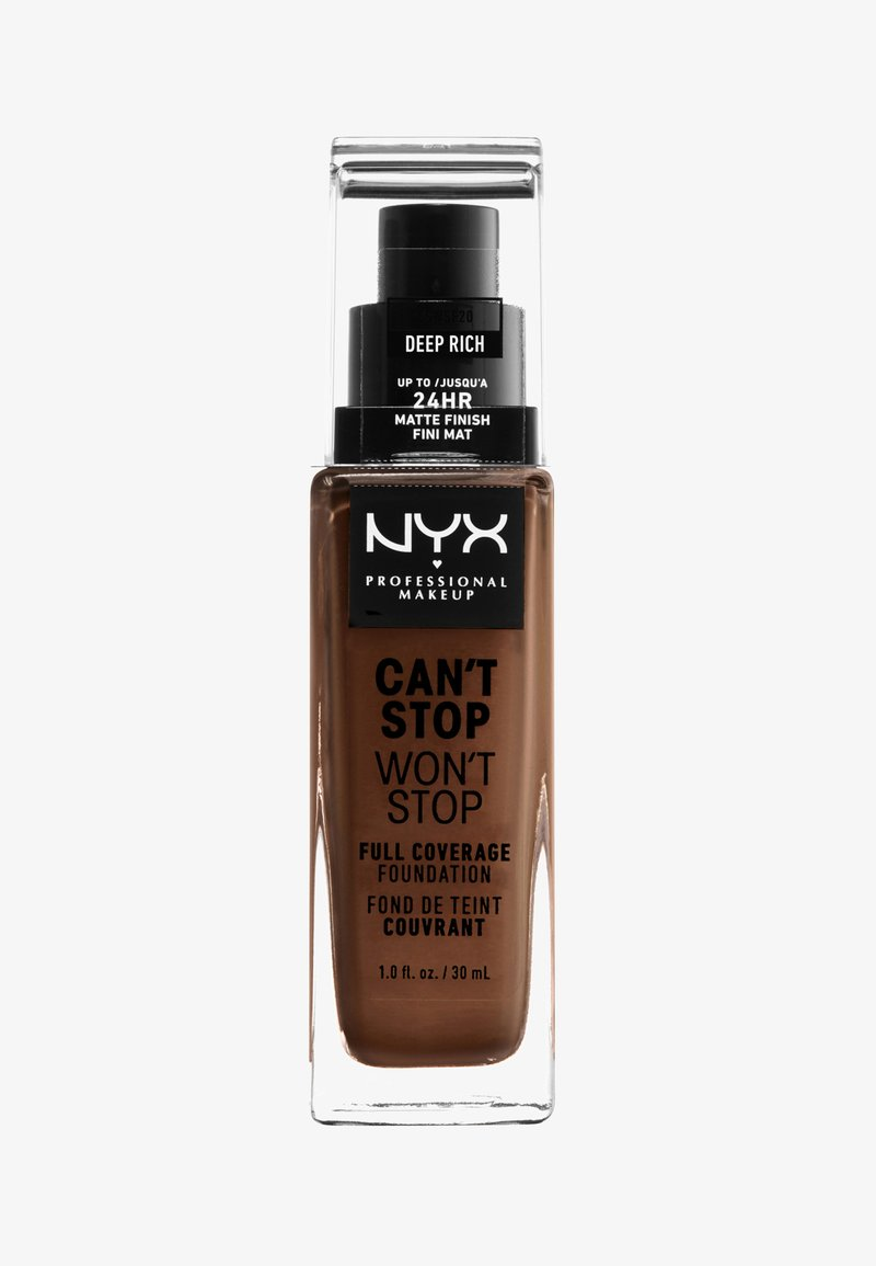 Nyx Professional Makeup - CAN'T STOP WON'T STOP FOUNDATION - Foundation - 20 deep rich