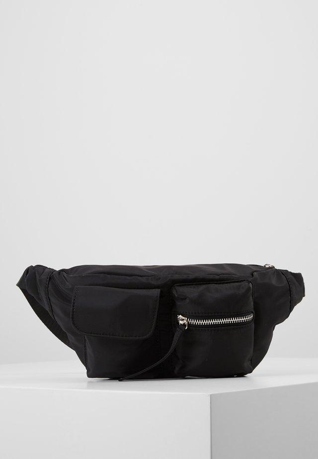 AGNES WAIST BAG - Sac banane - black