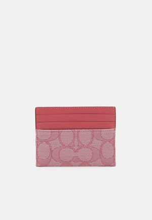 SIGNATURE FLAT CARD CASE - Wallet - taffy taffy
