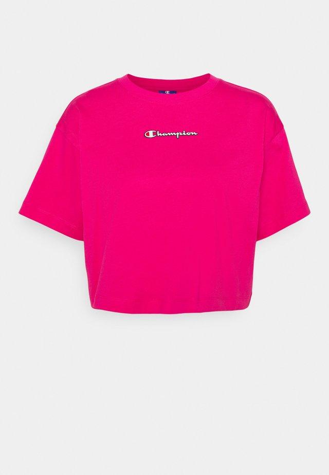 CROP - T-Shirt print - but