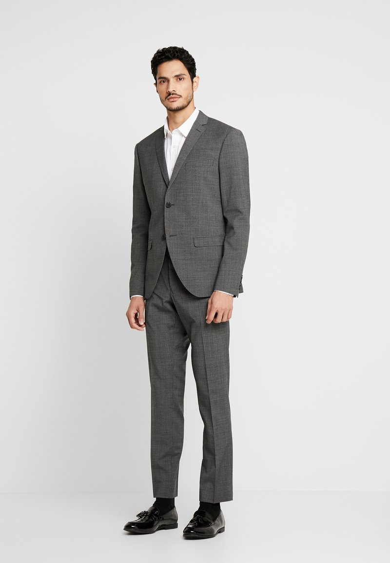 Isaac Dewhirst - PUPPYTOOTH SUIT - Oblek - dark grey