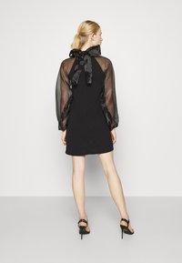 Pieces - PCNALLY DRESS - Cocktail dress / Party dress - black - 2