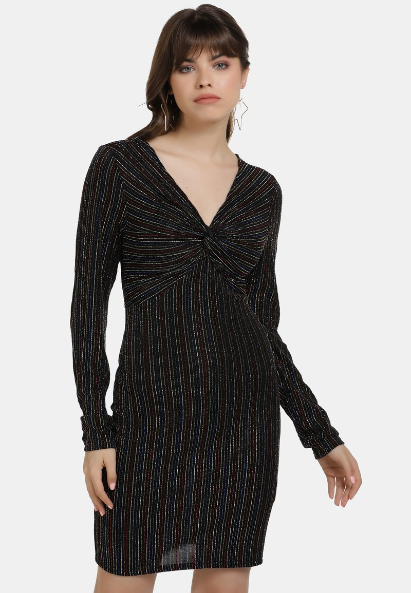 myMo at night - Cocktail dress / Party dress - schwarz multicolor