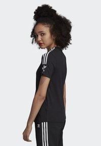 adidas Originals - 3-STRIPES T-SHIRT - T-shirts print - black - 3