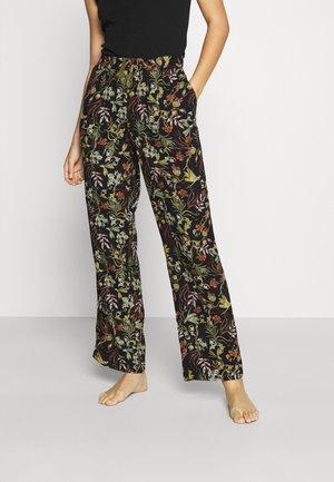 PANT DRAGONFLY - Pyjamabroek - black