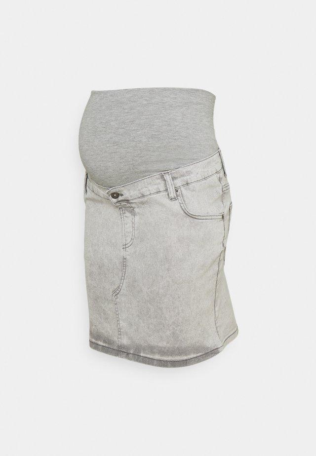 SKIRT  - Denimová sukně - grey denim