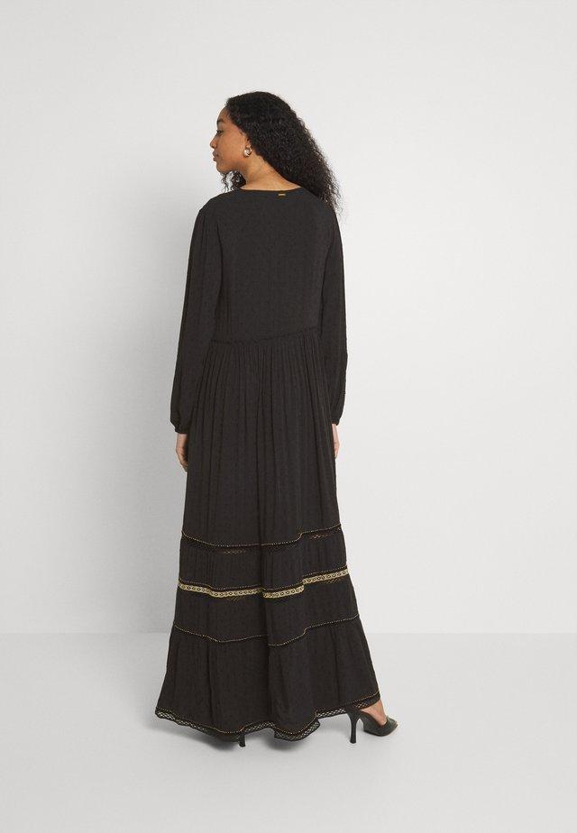 AMEERA DRESS - Maxi-jurk - black
