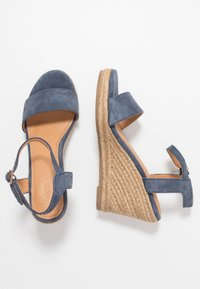 Mexx - ESTELLE - High heeled sandals - blue - 3
