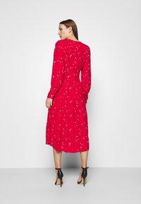 Ghost - CORA DRESS - Vestito estivo - red - 2
