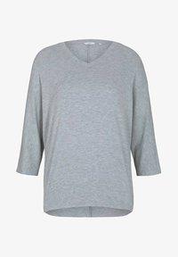 silver grey melange