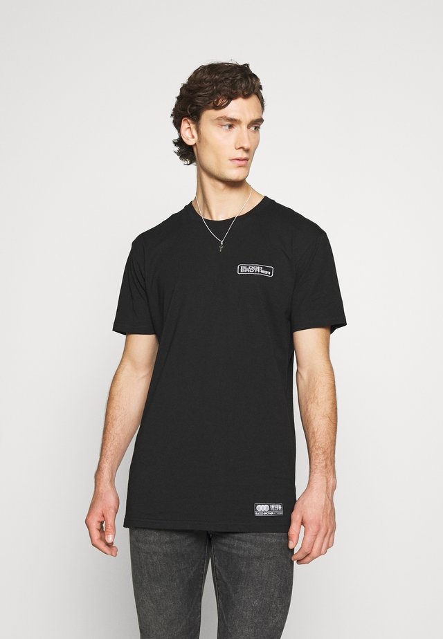 ABBEY TEE - Basic T-shirt - charcoal