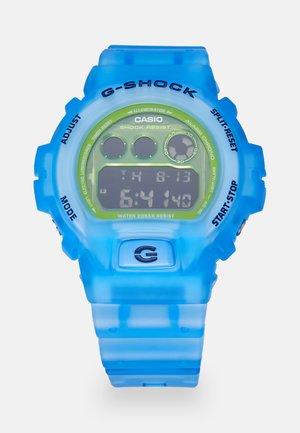 SKELETON - Digital watch - blue