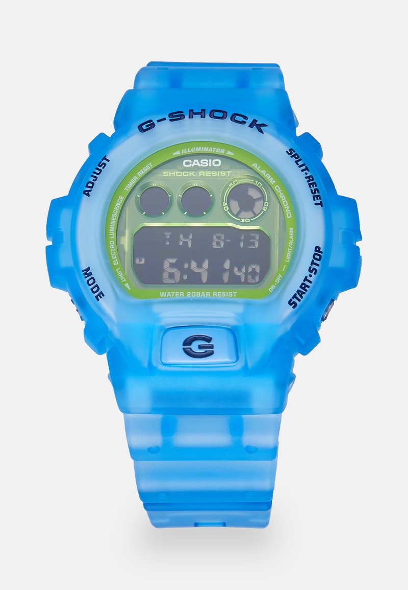 G-SHOCK - SKELETON - Digital watch - blue