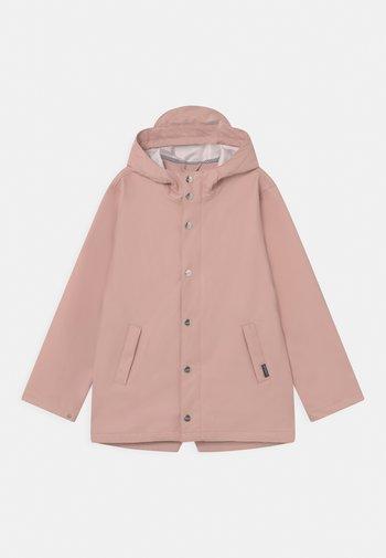 ELEPHANT MAN UNISEX - Waterproof jacket - evening pink