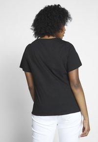 Dorothy Perkins Curve - AMOUR MOTIF TEE - T-shirt imprimé - black - 2