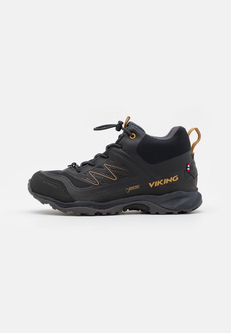 Viking - TIND MID GTX UNISEX - Hiking shoes - black