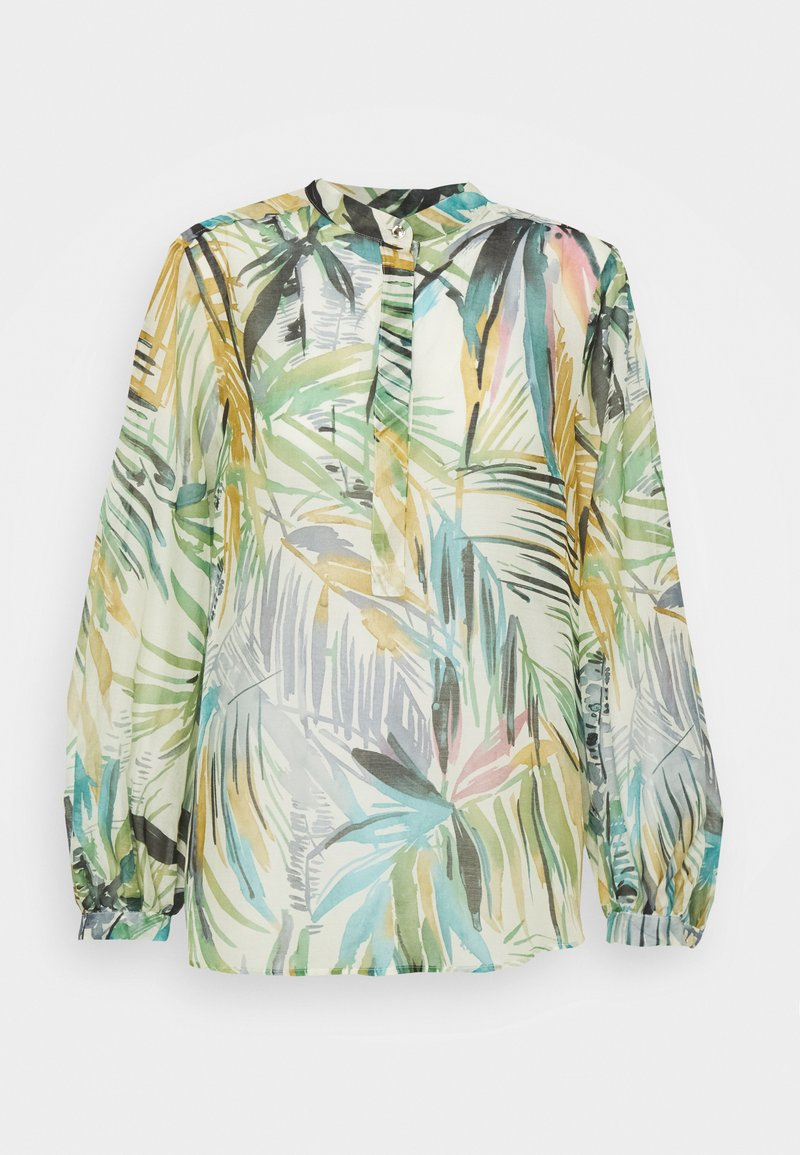 Marella - CURVONE - Long sleeved top - bianco