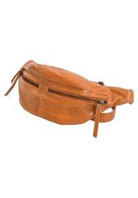 Gusti Leder - ACTON - Bum bag - cognac - 4