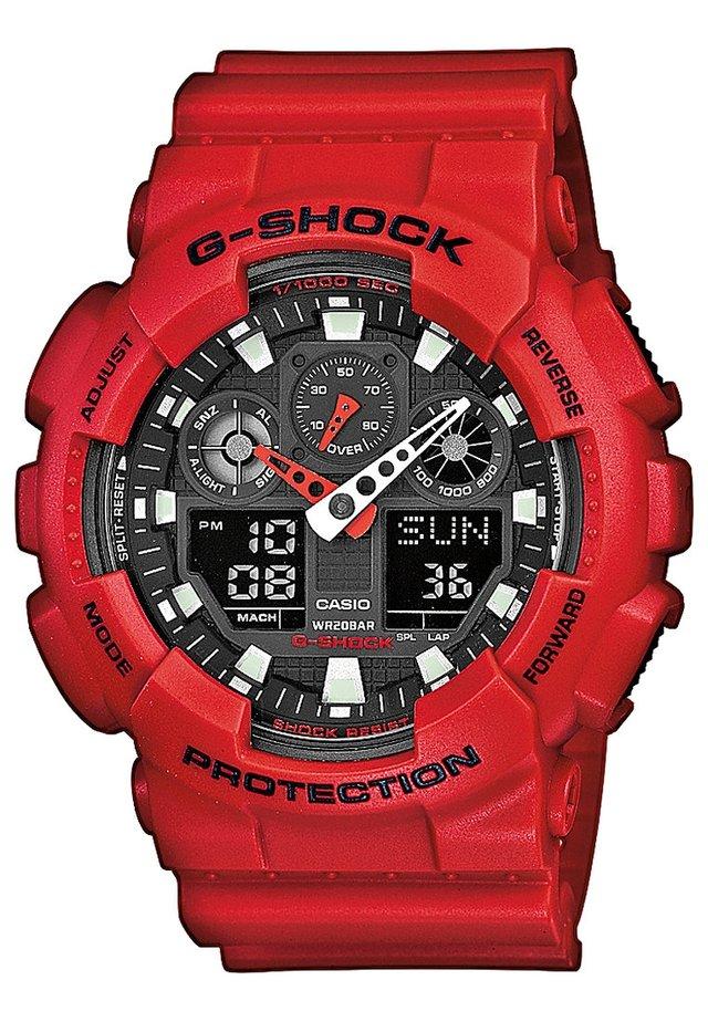 G-SHOCK - Kronograf - rot