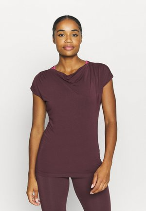 WASSERFALL - T-Shirt basic - bordeaux